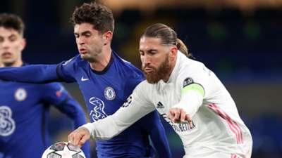 Sergio Ramos Real Madrid Chelsea