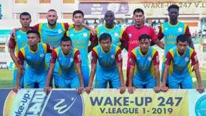 Sanna Khanh Hoa BVN vs Thanh Hoa Round 14 V.League 2019