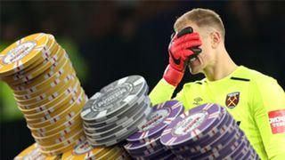 West Ham's Joe Hart Gamble