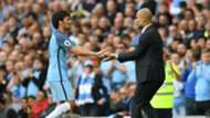 David Silva Pep Guardiola Manchester City