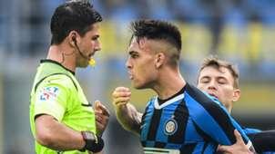 Lautaro Martinez Inter Cagliari Serie A