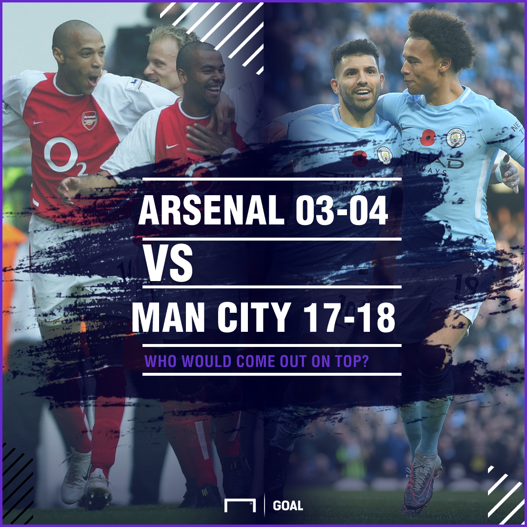 Arsenal 03-04 v Manchester City 17-18