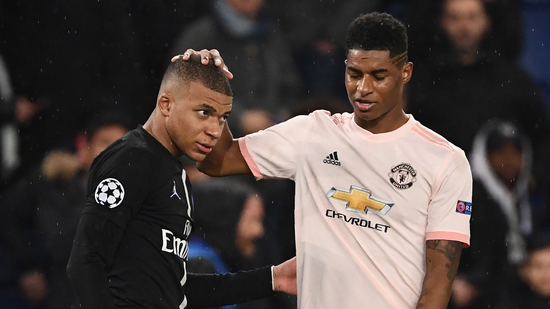 Manchester United News Marcus Rashford Is Special And Can Be As Good As Psg Star Kylian Mbappe Says Phil Neville Goal Com