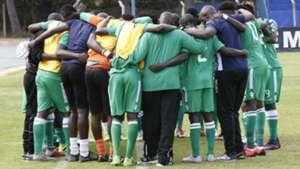 Gor Mahia players v Bandari FC.
