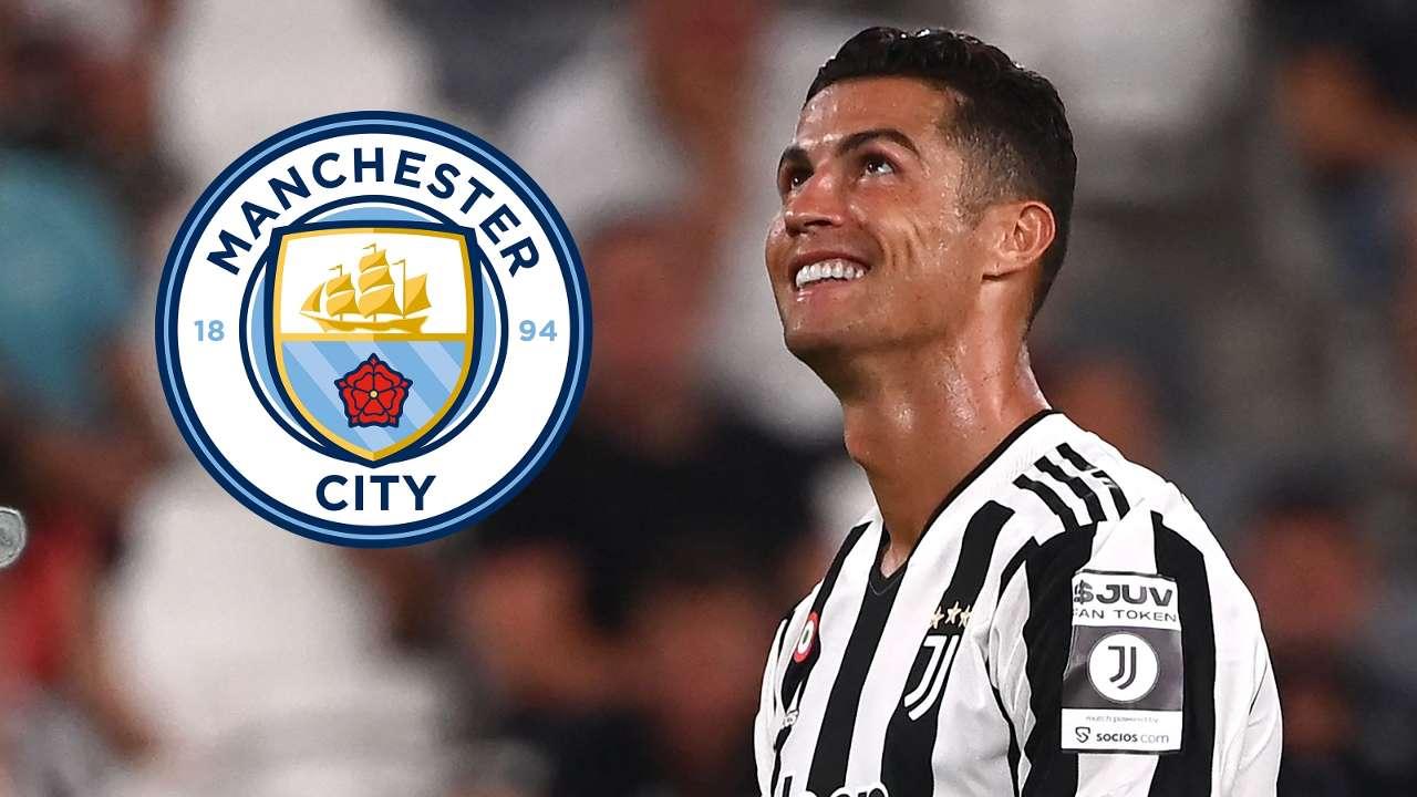 Cristiano Ronaldo Manchester City GFX