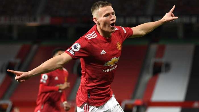 Scott McTominay Manchester United 2020-21