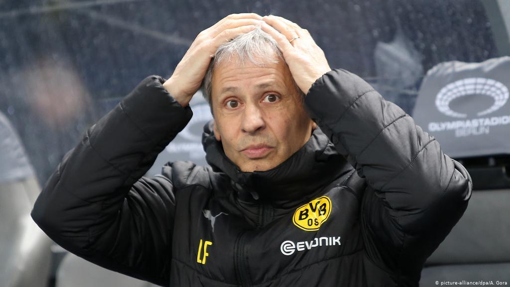 Borussia Dortmund Pecat Lucien Favre   Goal.com