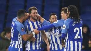Brighton goal celebration