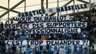 Marseille Caen fans banner Ligue 1 05112017