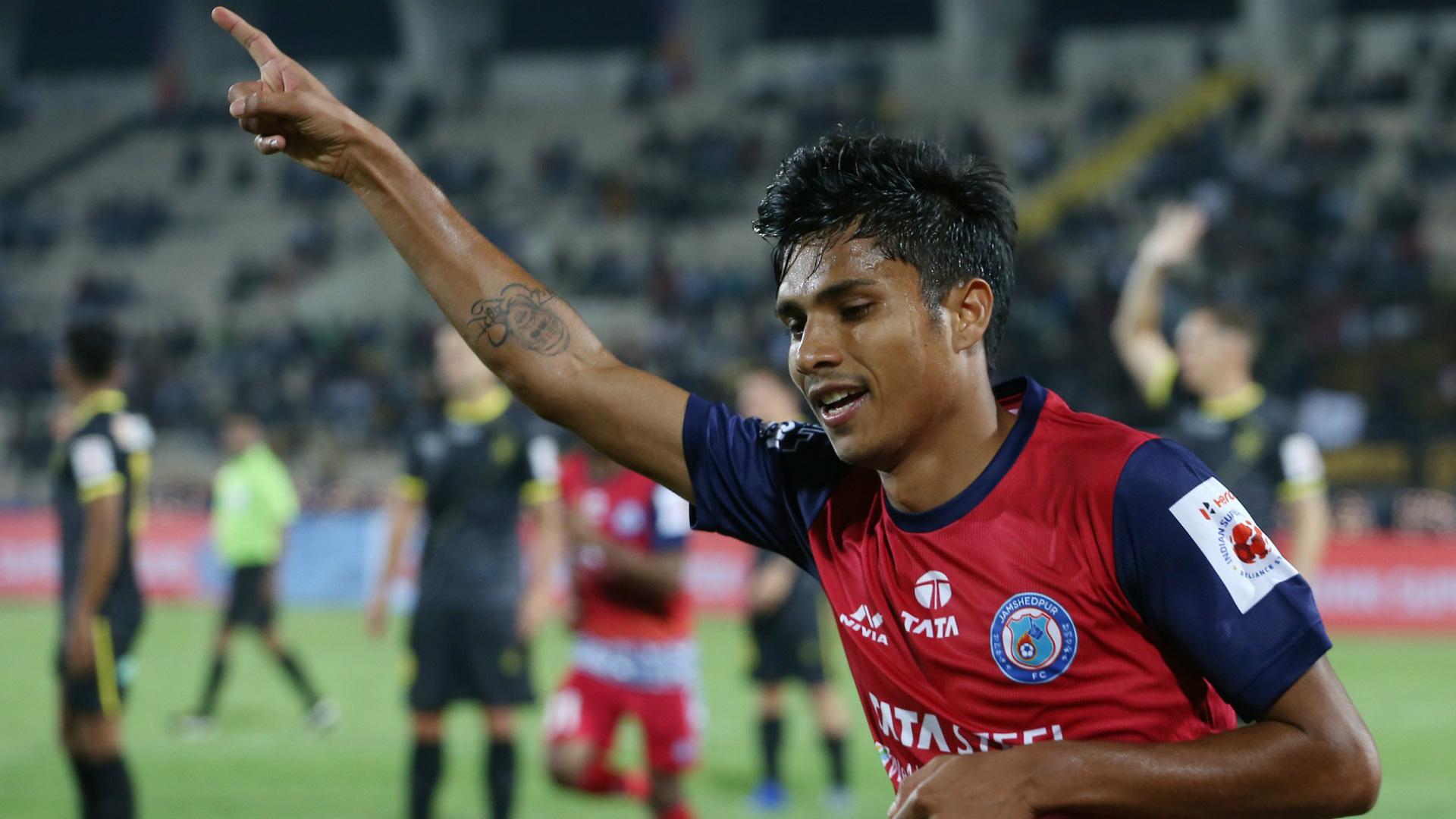Sumeet Passi Hyderabad FC Jamshedpur FC ISL 6