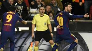 Messi Suarez Valencia Barcelona