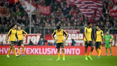 Arsenal Bayern Munich Champions League