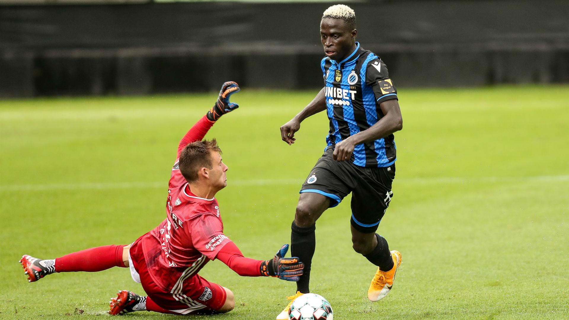 Krepin Diatta: Monaco complete signing of Club Brugge forward
