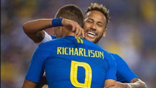 Richarlison Neymar Brazil El Salvador Friendly 11092018
