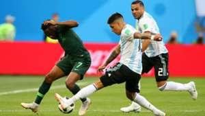 Enzo Perez Ahmed Musa Mercado Argentina Nigeria World Cup Russi 2018 26062018