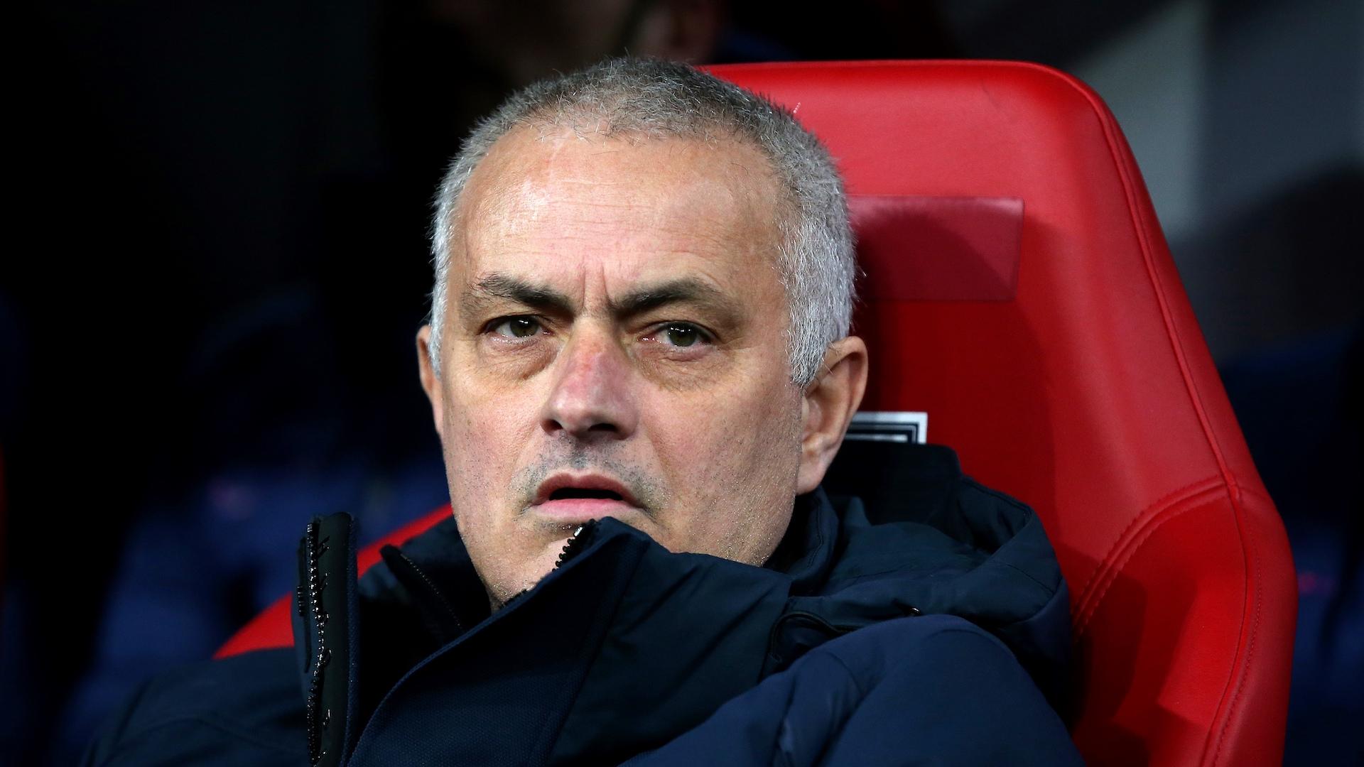 Le huis clos n'effraie pas José Mourinho — Tottenham