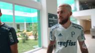 Lucas Lima chegada Palmeiras 03012017