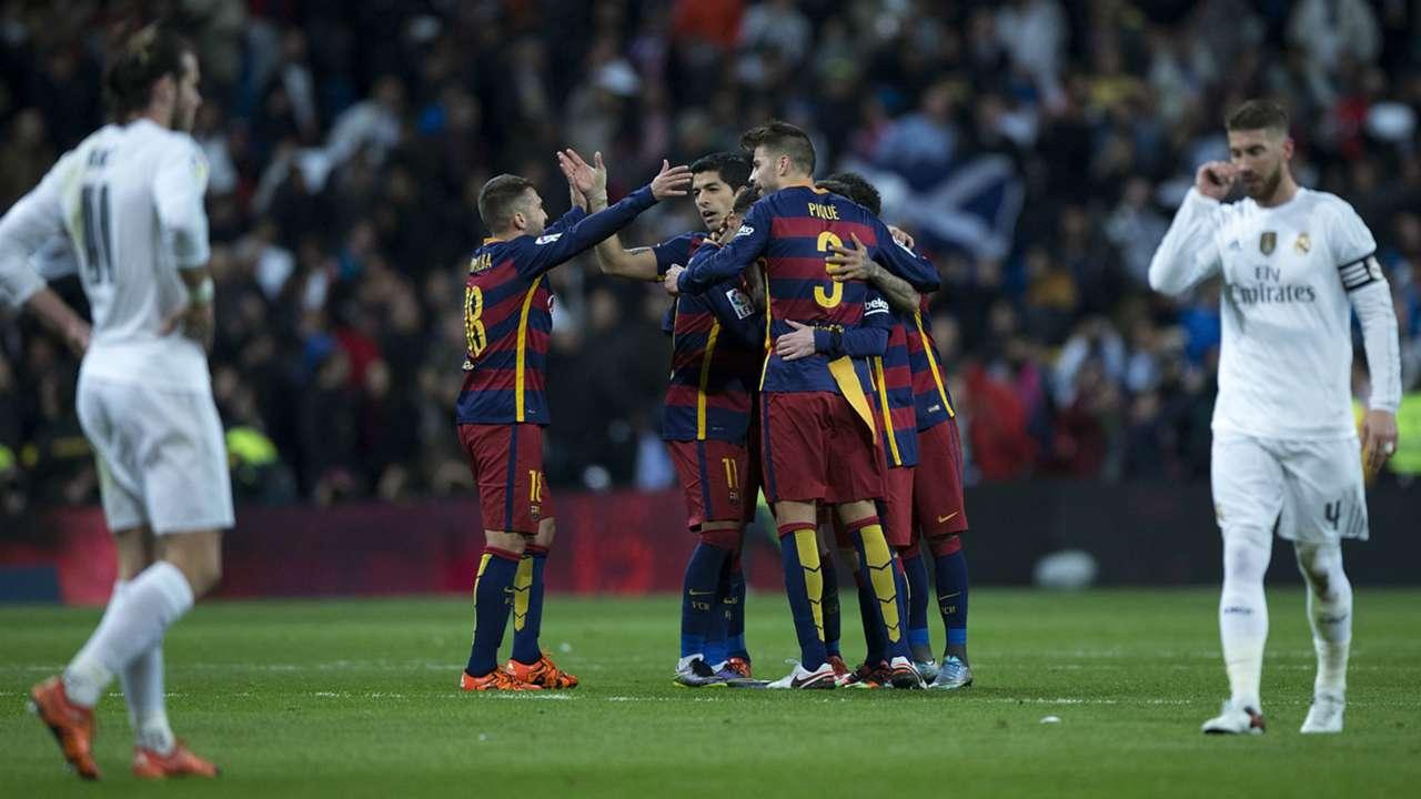 Barcelona Vs Real Madrid Kemenangan Terbesar El Clasico 50 Tahun Terakhir Goal Com