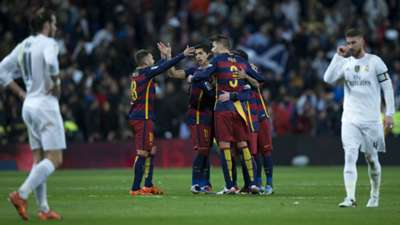 Real Madrid v Barcelona La Liga 21112015