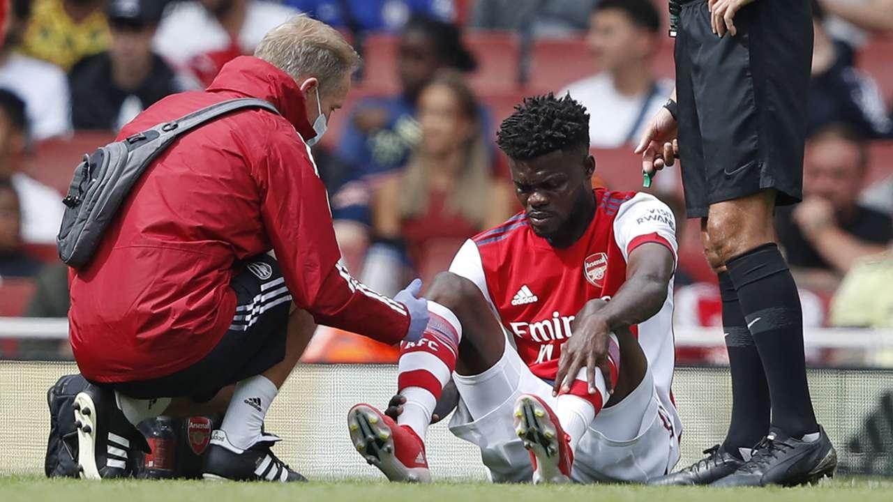 Thomas Partey Arsenal 2021-22