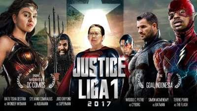 Cover 1 - Justice Liga 1 Indonesia
