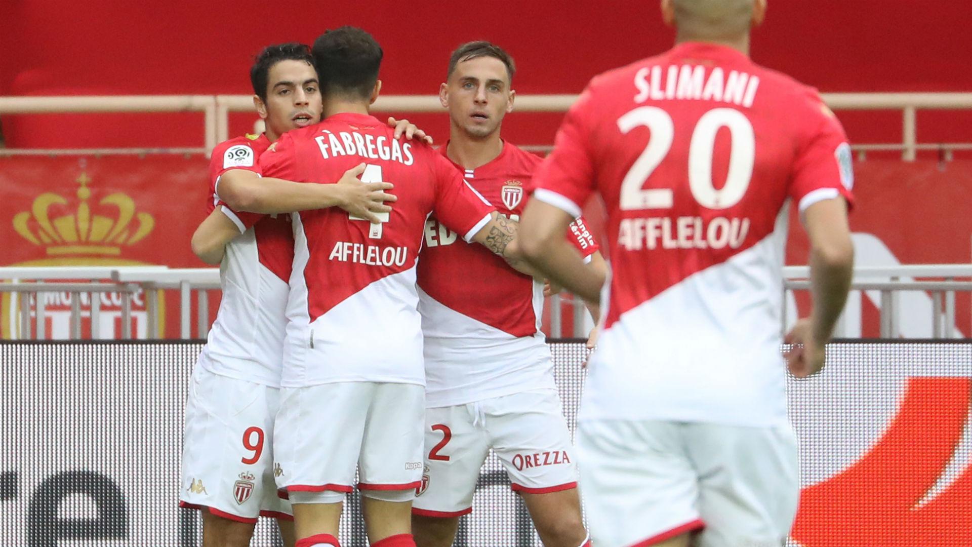 Wissam Ben Yedder Islam Slimani AS Monaco Ligue 1
