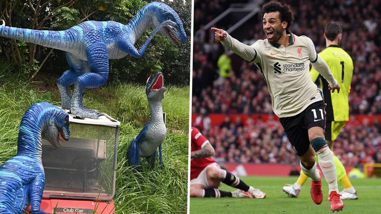 Velociraptors Jurassic Park Mohamed Salah Liverpool