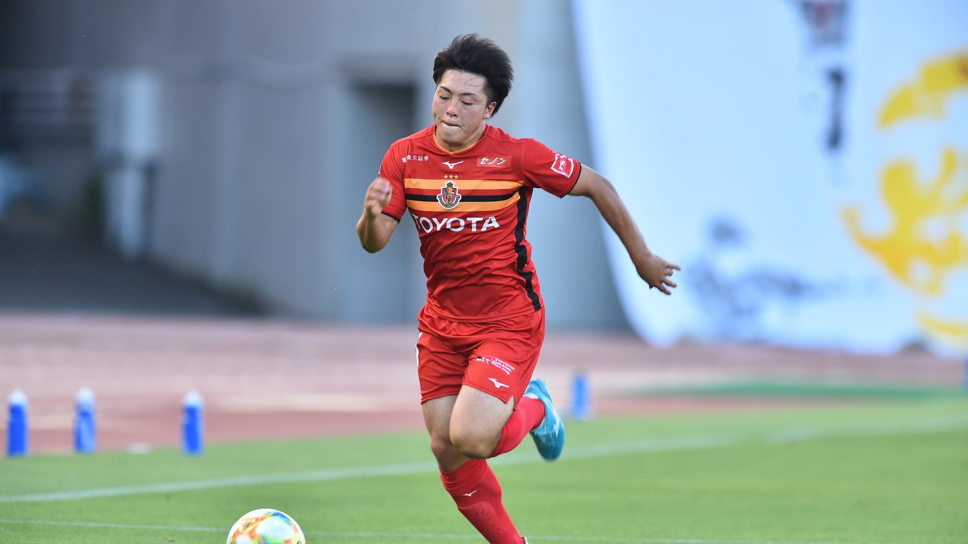 名古屋MF相馬勇紀、期限付き移籍で鹿島へ「さらに成長して戻ってきます」 | Goal.com