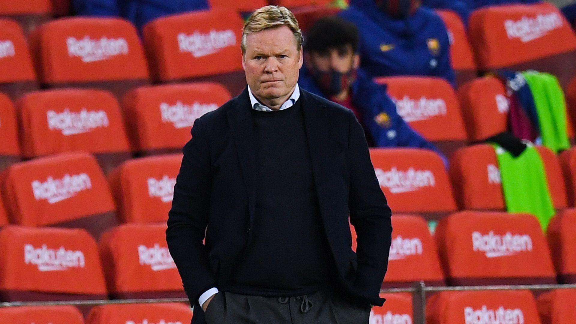 Koeman says Barcelona not in a position to win trophies