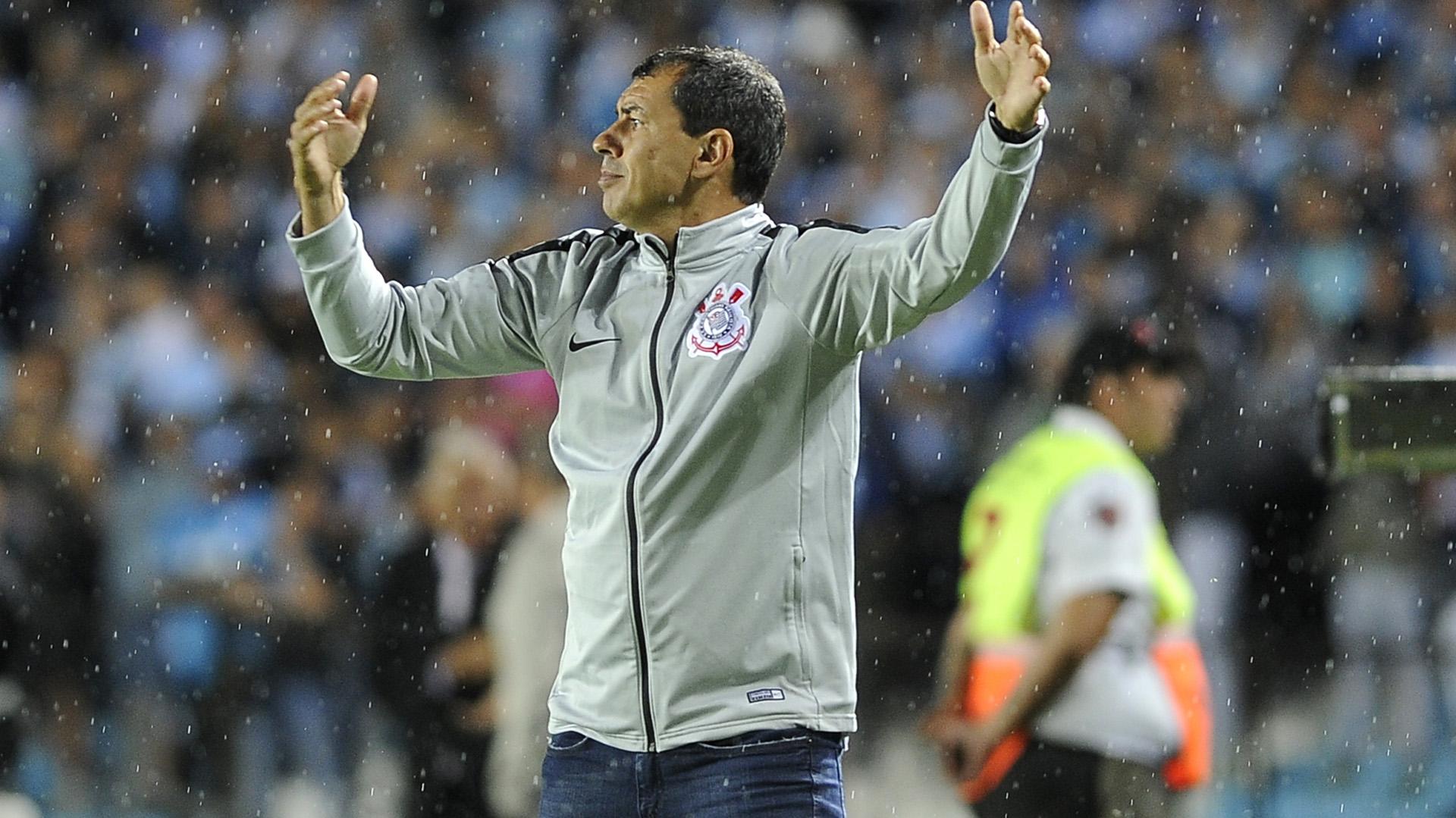 Fabio Carille Racing Corinthians Copa Sudamericana 27022019
