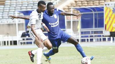 MUSAB MOHEMED of Al Ahly Shande FIGHT WITH COLLINS AGADE of Bandari FC