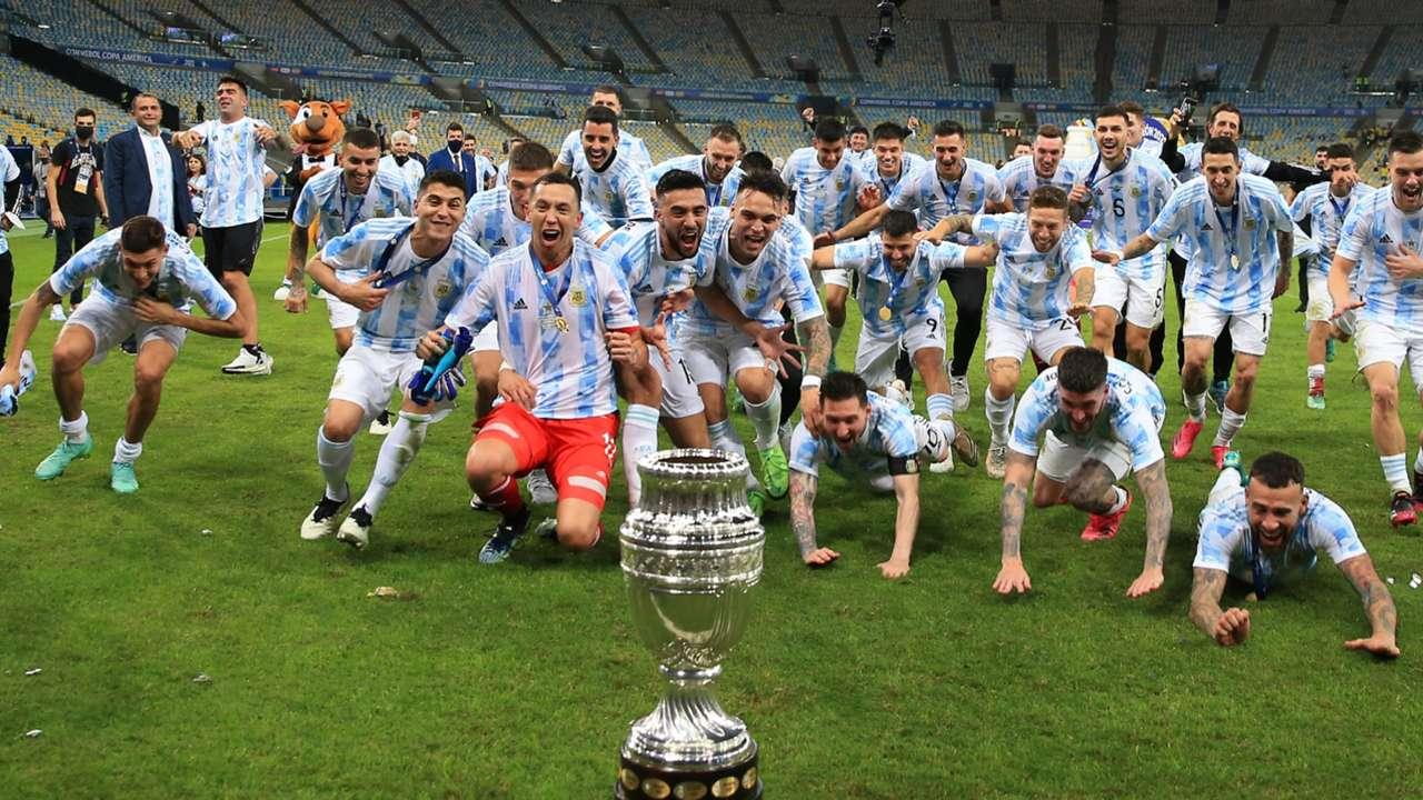 Argentina Campeon Copa America Final 10072021