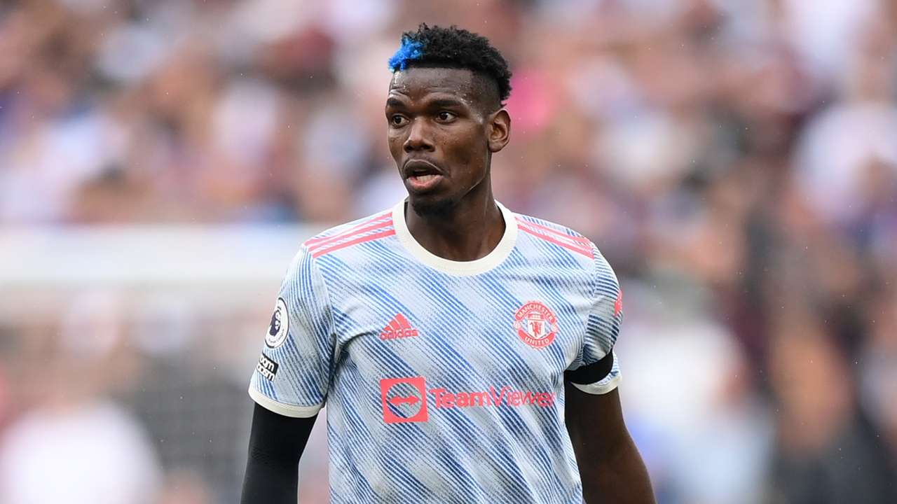 Paul Pogba Manchester United 2021-22