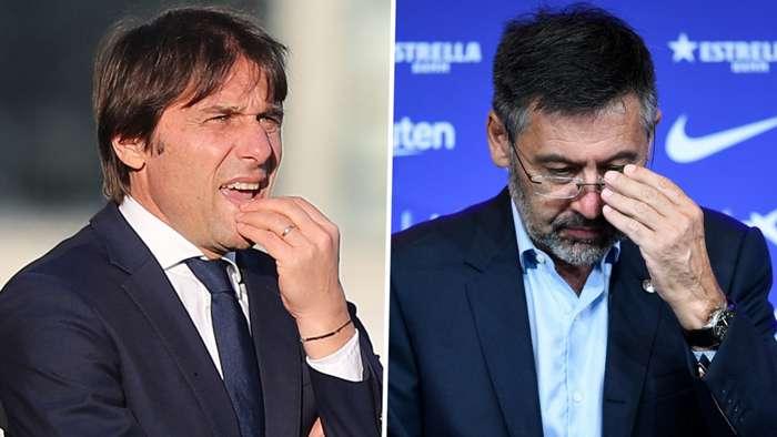 Antonio Conte Josep Maria Bartomeu Inter Barcelona GFX