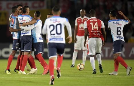 Junior vs Santa Fe Copa Sudamericana 2018