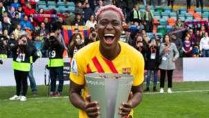 Oshoala win Super Cup