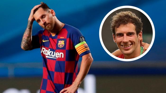 Lionel Messi Leon Goretzka