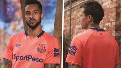 Everton away kit 2019-20