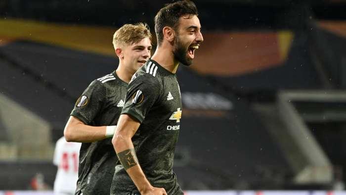 Bruno Fernandes Manchester United 2019-20