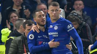 Ross Barkley Eden Hazard Chelsea 2018-19