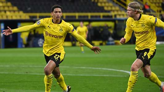 Dortmund wonderkid Bellingham makes Champions League history with sublime opener against Man City | Goal.com