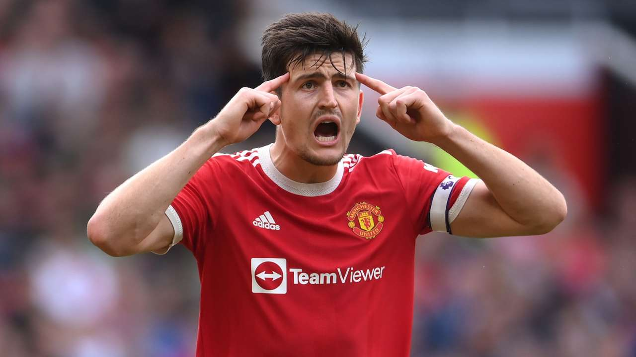Harry Maguire Manchester United 2021-22