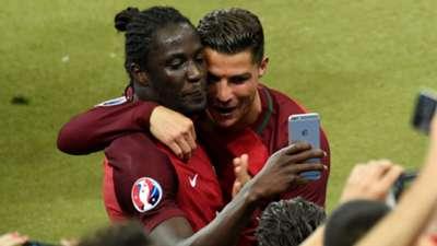 Eder Cristiano Ronaldo Portugal Euro 2016