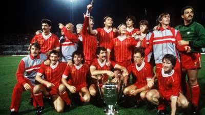 Liverpool's European Cup winning team of 1984
