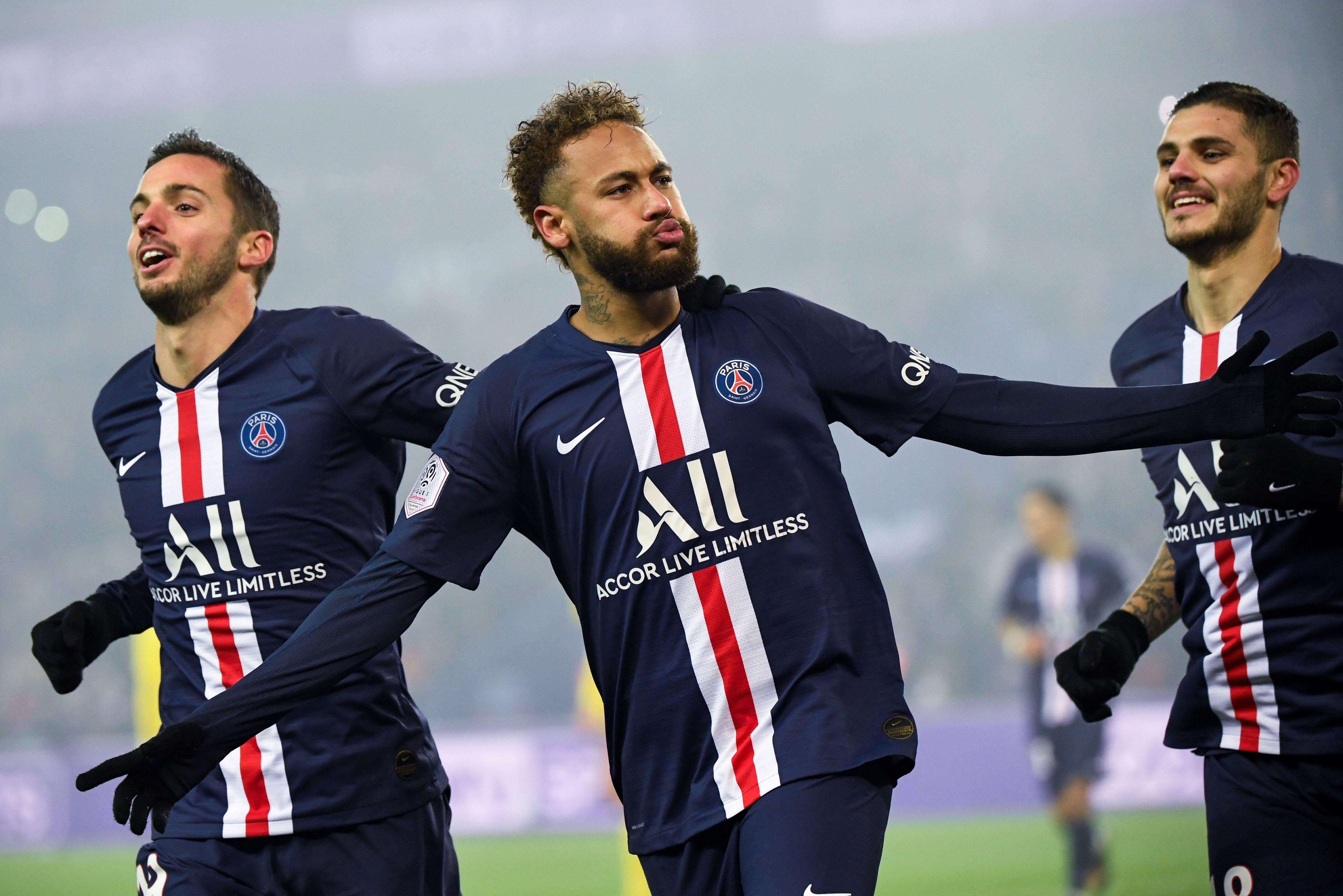 Montpellier - PSG : Delort s'explique sur son altercation avec Neymar