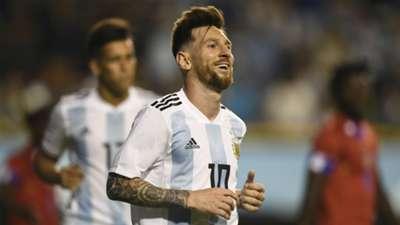 Lionel Messi Argentina Haiti international friendly 2018