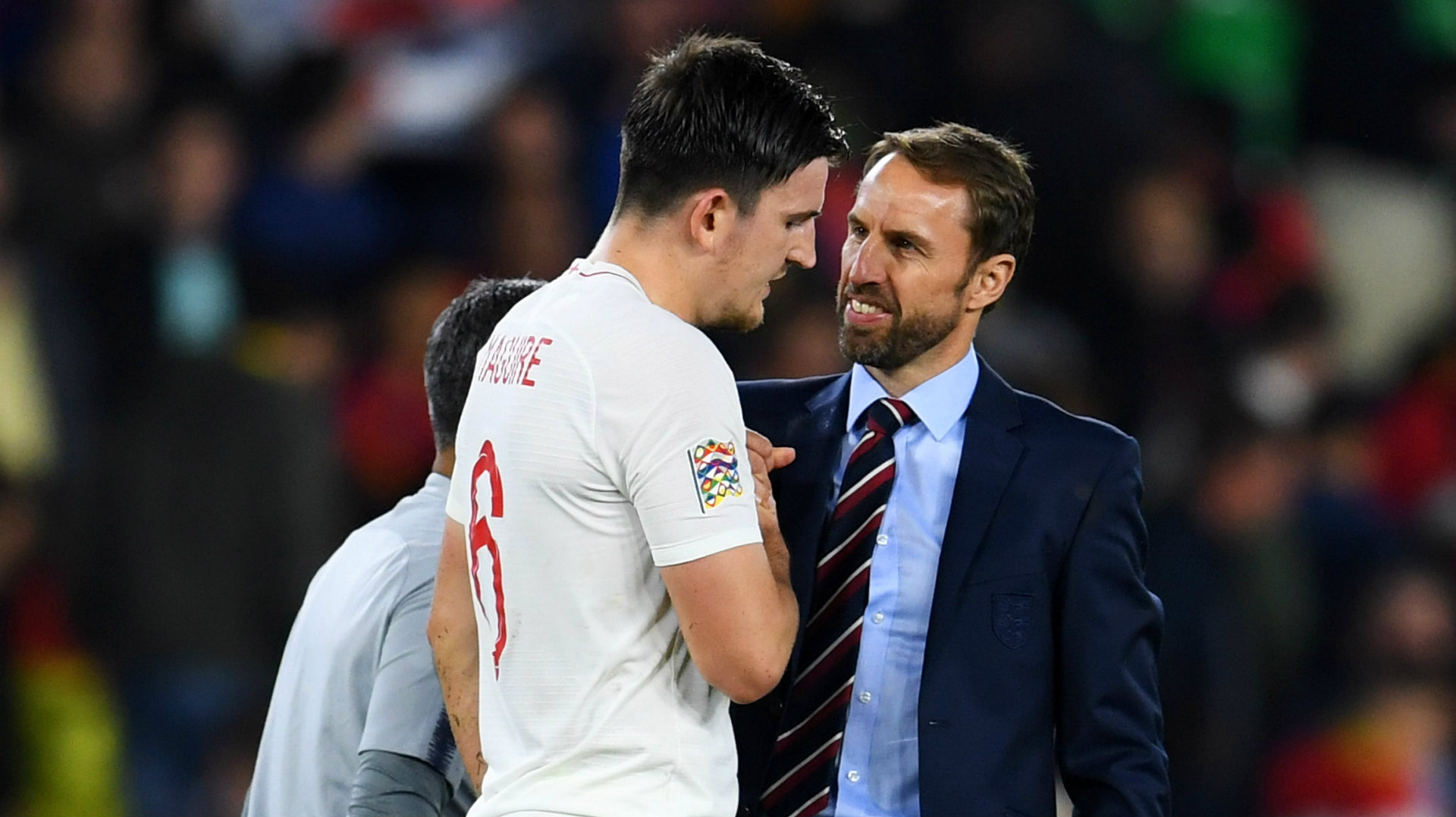 Southgate explains why he has picked Maguire in the England squad to face Iceland and Denmark amid trial in Greece