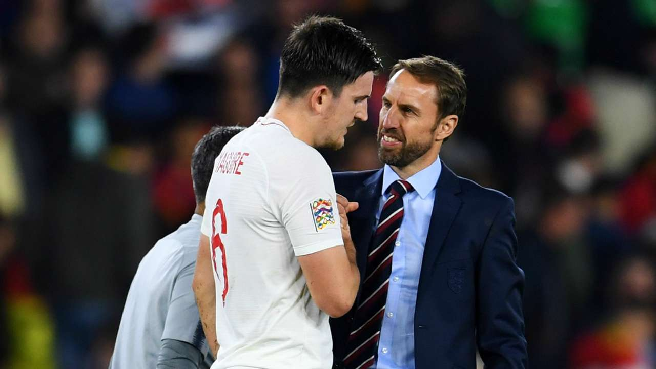 Gareth Southgate Harry Maguire England 2018