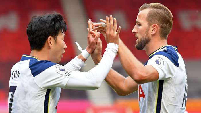 Son Heung-min, Harry Kane, Tottenham, Premier League 2020-21