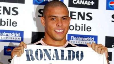 Ronaldo Nazario Real Madrid